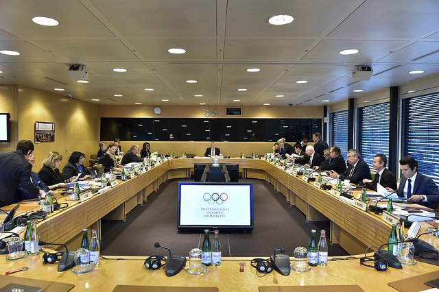 The board in session // photo IOC
