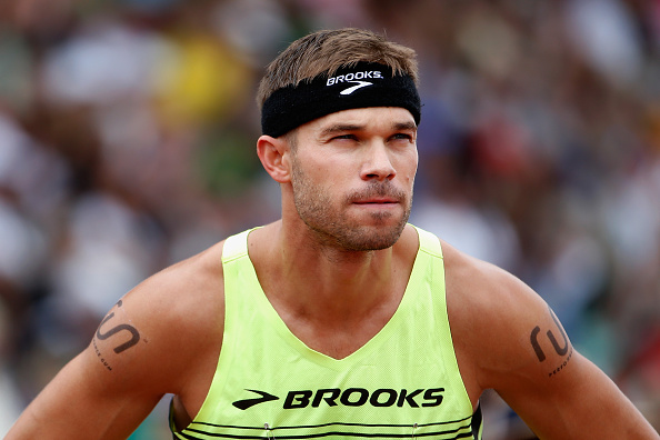 Nick Symmonds at last June's US championships in Eugene, Oregon // Getty Images