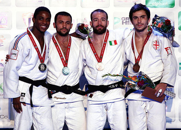 After the men's 66-kg final: France, Russia, Italy, Georgia // photo IJF