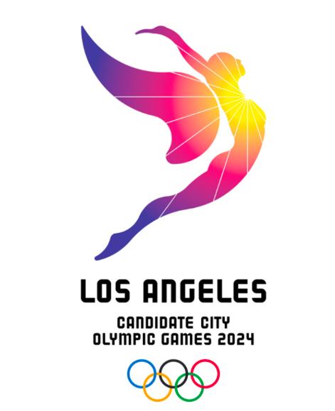 The LA24 logo