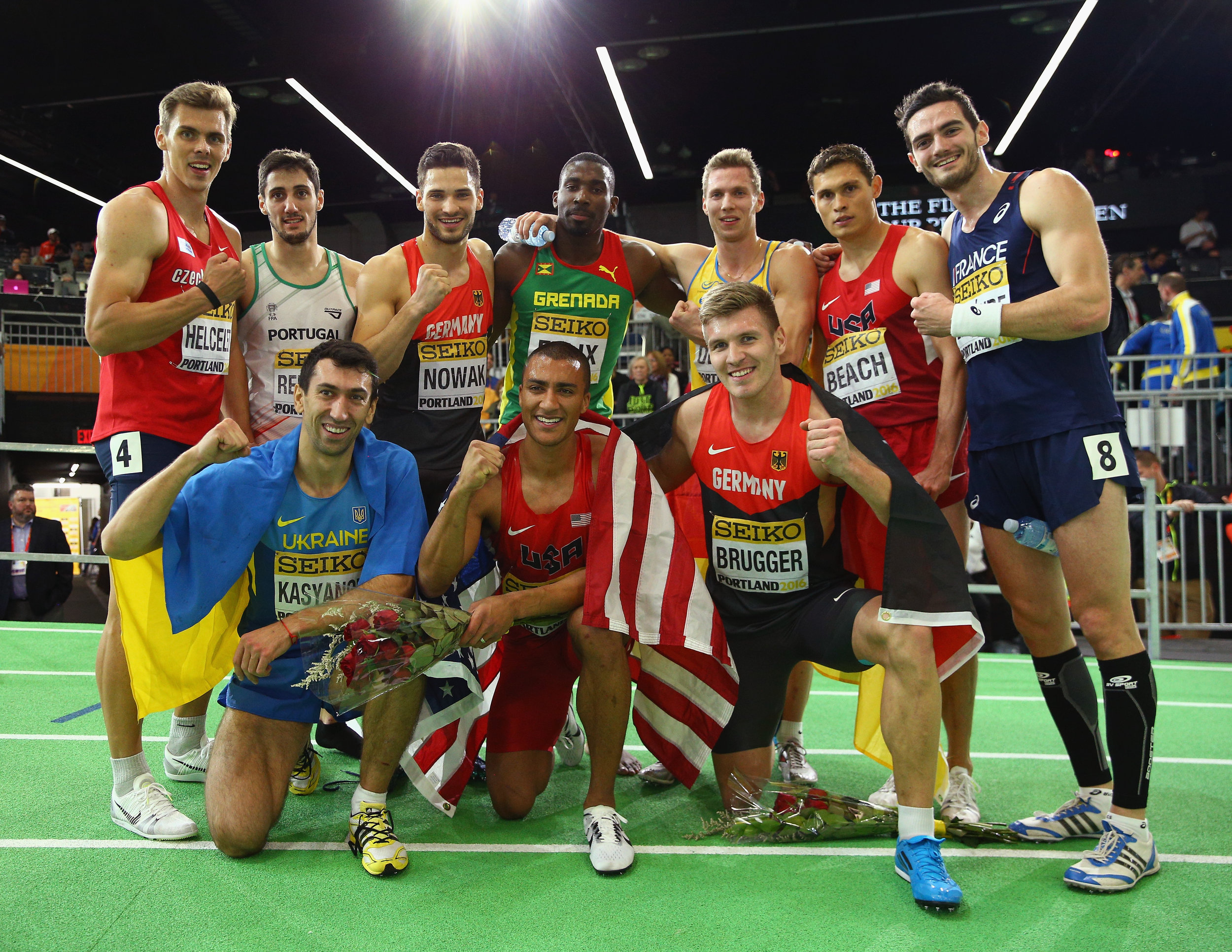 After the heptathlon // Getty Images for the IAAF