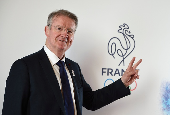 Paris 2024 bid co-president Bernard Lapasset at the 100 days out event // Getty Images