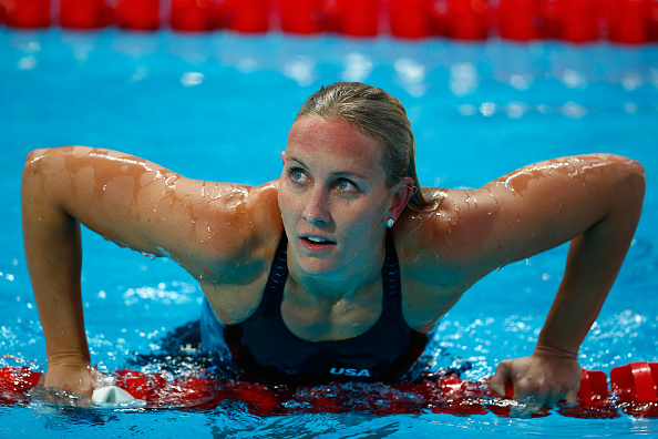 American swimmer Jessica Hardy at last summers world championships in Kazan, Russia // Getty Images