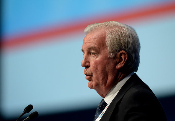 Sir Craig Reedie, WADA president and longtime IOC member // Getty Images