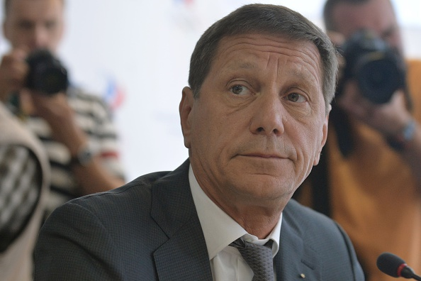 Russia'Olympic committee president Alexander Zhukov at a meeting last week in Moscow // Getty Images