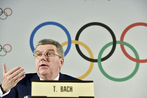 The IOC president, Thomas Bach // IOC