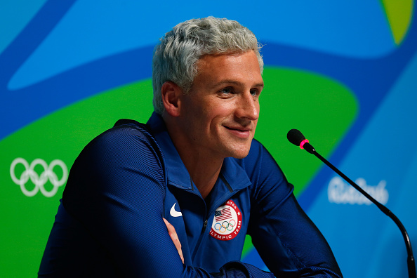 Ryan Lochte in Rio, before it all blew up // Getty Images