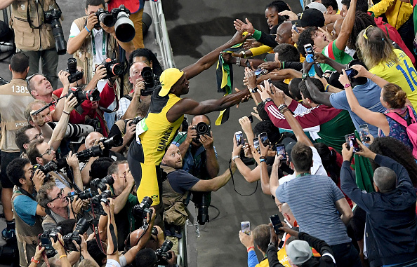 The Bolt show, back at an Olympics near you // Getty Images