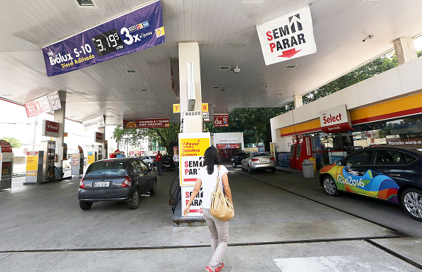 The now-infamous Rio Shell station // Getty Images