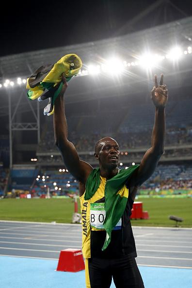 Nine-time gold medalist Usain Bolt // Getty Images