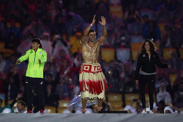 You wish you could be like him but you can't: Pita Taufatofua of Tongo