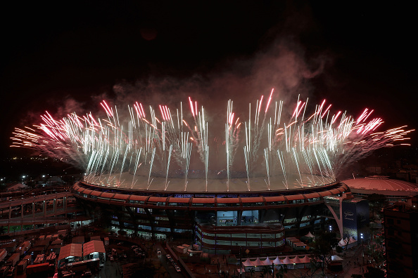 Closing ceremonies fireworks // Getty Images