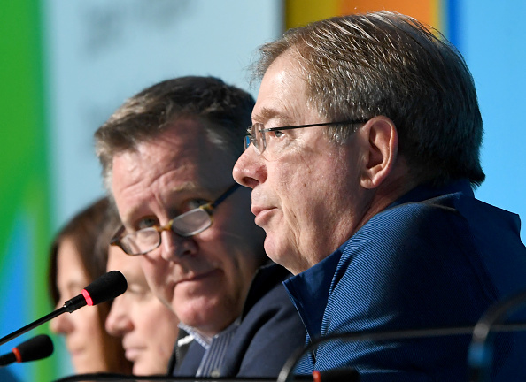USOC chief executive Scott Blackmun, left, and board chair Larry Probst in Rio // Getty Images