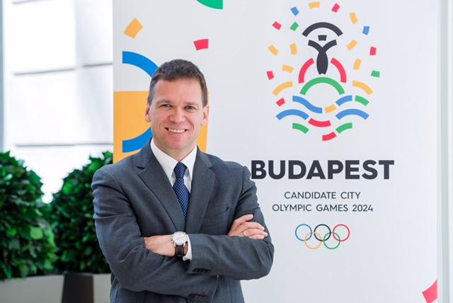 Budapest 2024 bid leader Balázs Fürjes // Budapest 2024