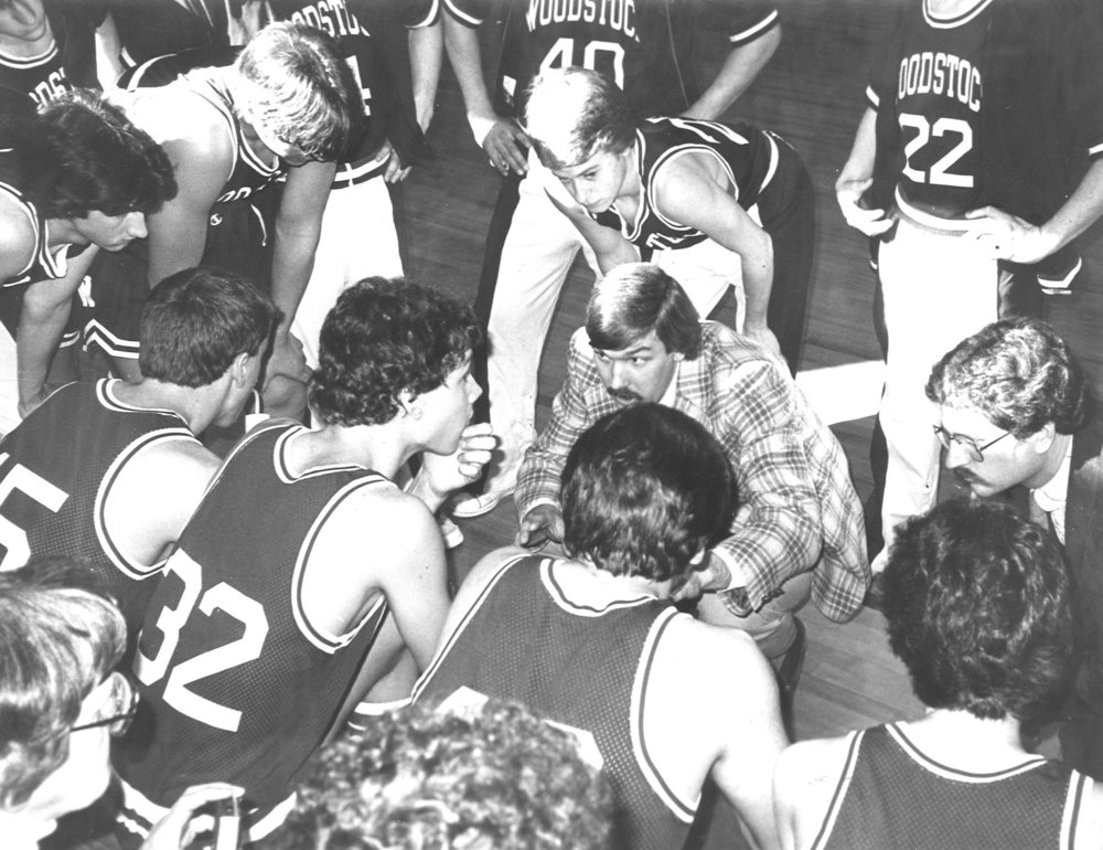 Coaching basketball back in the day in Woodstock, Vermont // USA Swimming