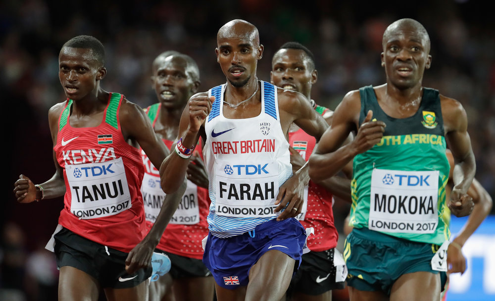 Earlier in the race // Getty Images for IAAF