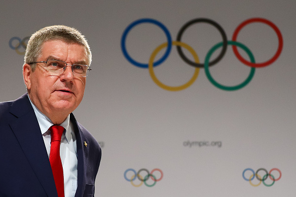 IOC president Thomas Bach at the IOC session in Lima // Getty Images