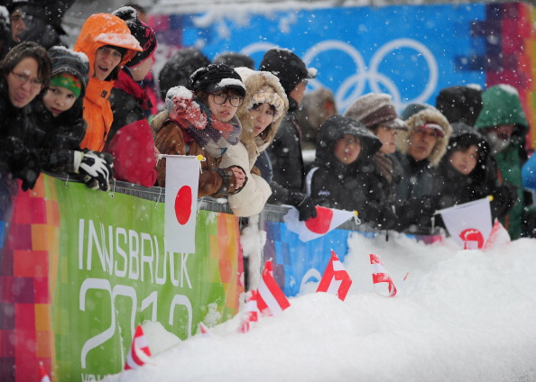Why, among other reasons, the IOC was hopeful: the 2012 Youth Games, in Innsbruck. There will be no such scenes in Innsbruck in 2026 // Getty Images