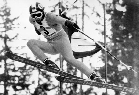 Franz Klammer captured his legendary 1976 dash to Olympic downhill gold // Getty Images