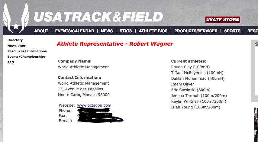 Wagner - USATF   Athlete Representatives.png