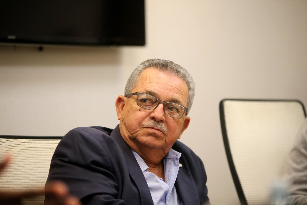 NACAC president Victor Lopez at that meeting // Fernando Neris