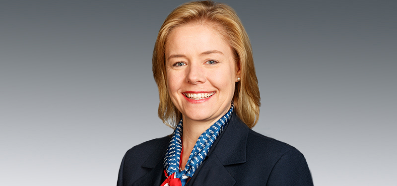 Sarah Hirshland, new USOC chief executive // USOC via USGA