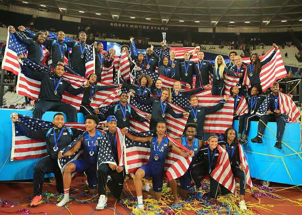The victorious American team // Getty Images