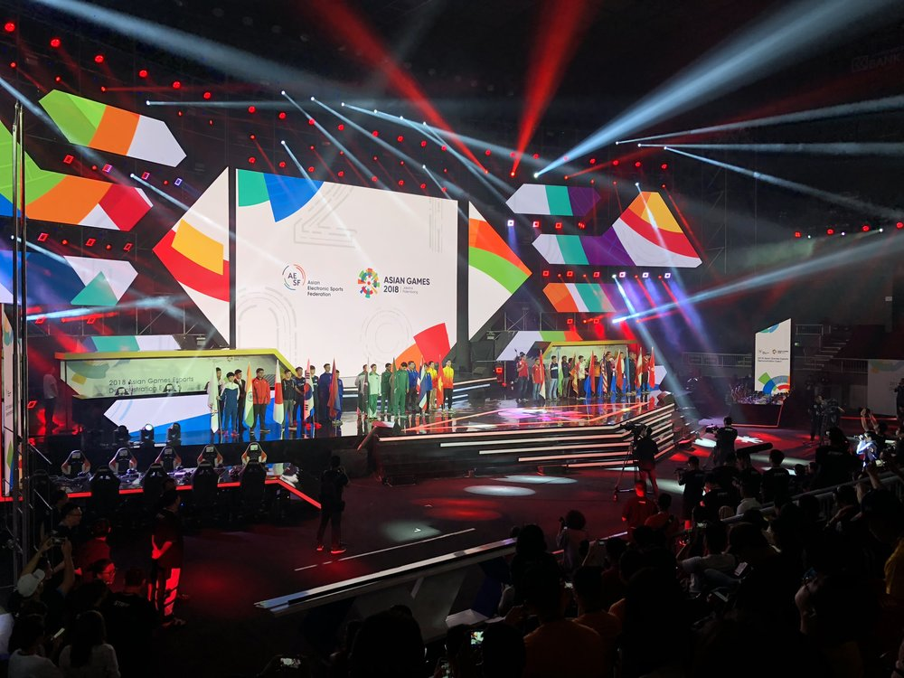 Setting the stage for esports -- now, which is visually and, just generally, more appealing?