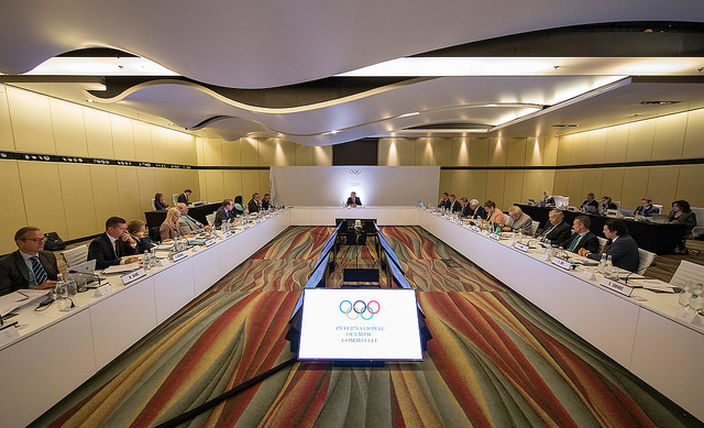 The Executive Board meeting in Buenos Aires // IOC