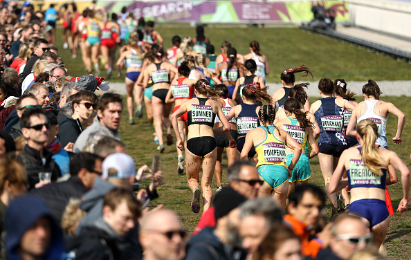 The women's field during the March 30 race in Aarhus // Getty Images