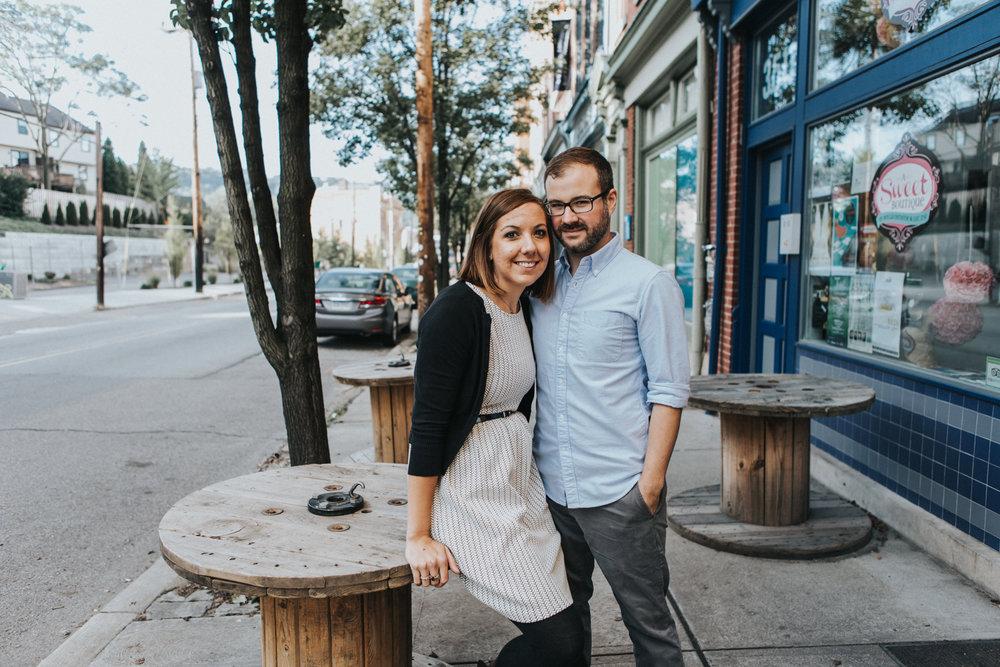 Kim + Scott Pittsburgh Engagement - Victoria Way Photography