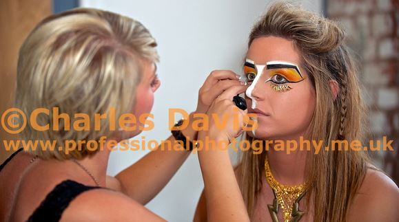 'Culture-Clash' make-up for the Midlands Fashion Awards make-up competition 2014