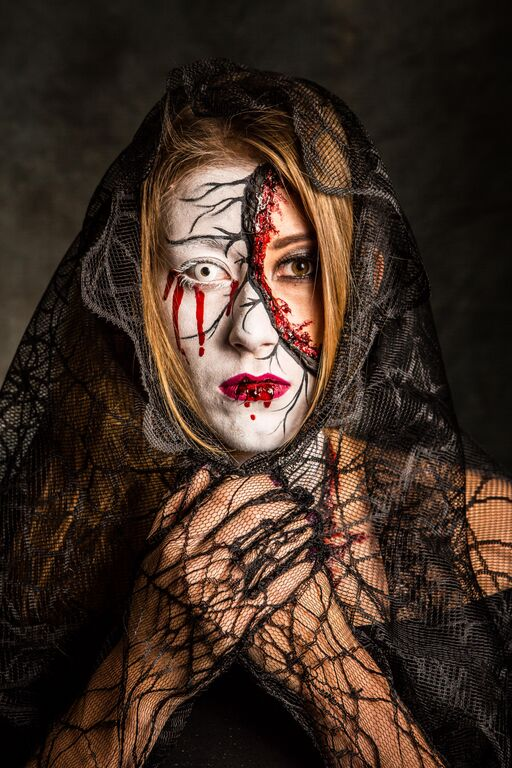 Halloween photo shoot with Jeff Land Photography