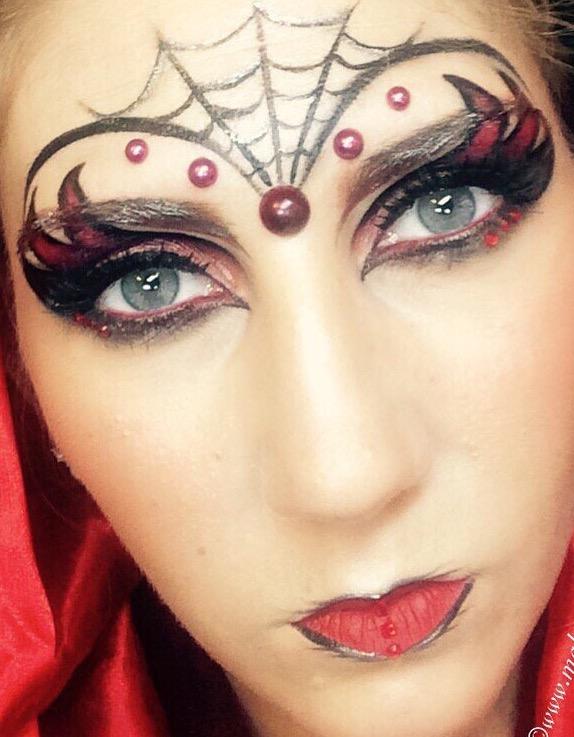 Halloween inspired make-up