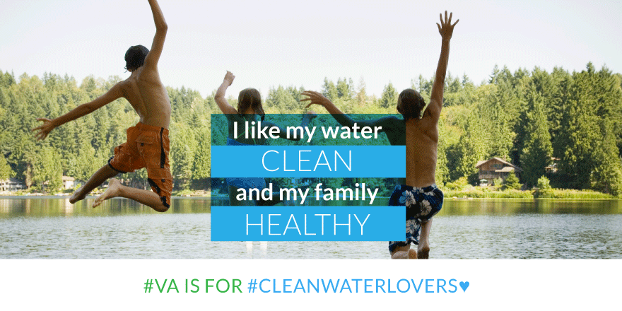Virginia is for Clean Water Lovers