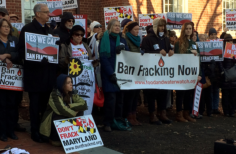 Fracking Ban Passes in Maryland