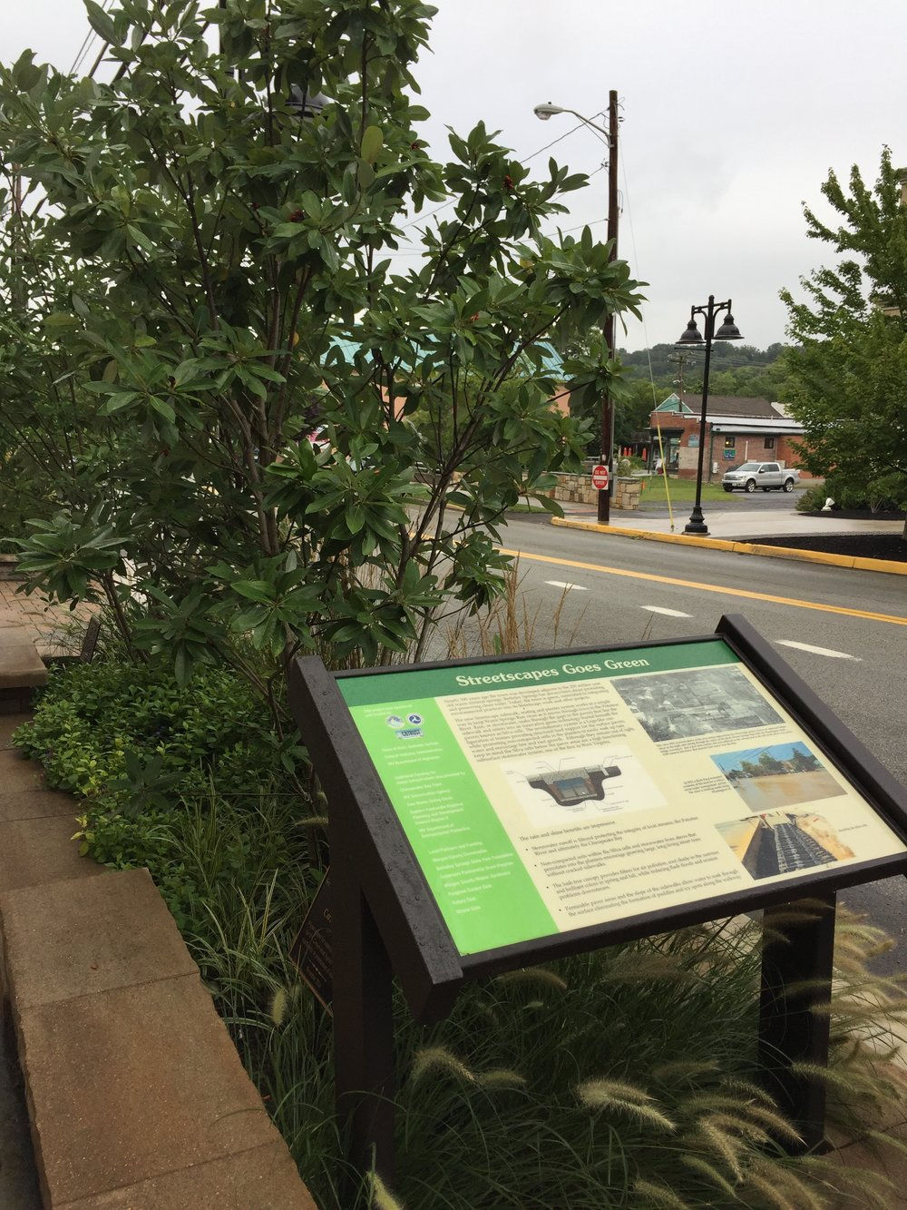 This innovative project helped reduce flooding on one of the main streets in Berkeley Springs.