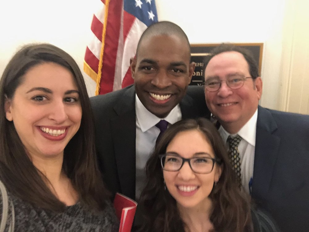 Congressman Antonio Delgado with Delaware and Chesapeake Coalition