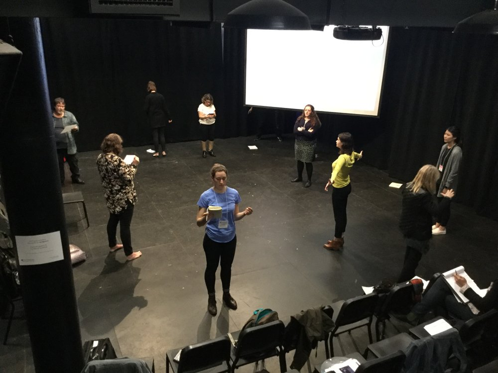 Workshop at Pless Hall Blackbox Theatre at New York University | Steinhardt