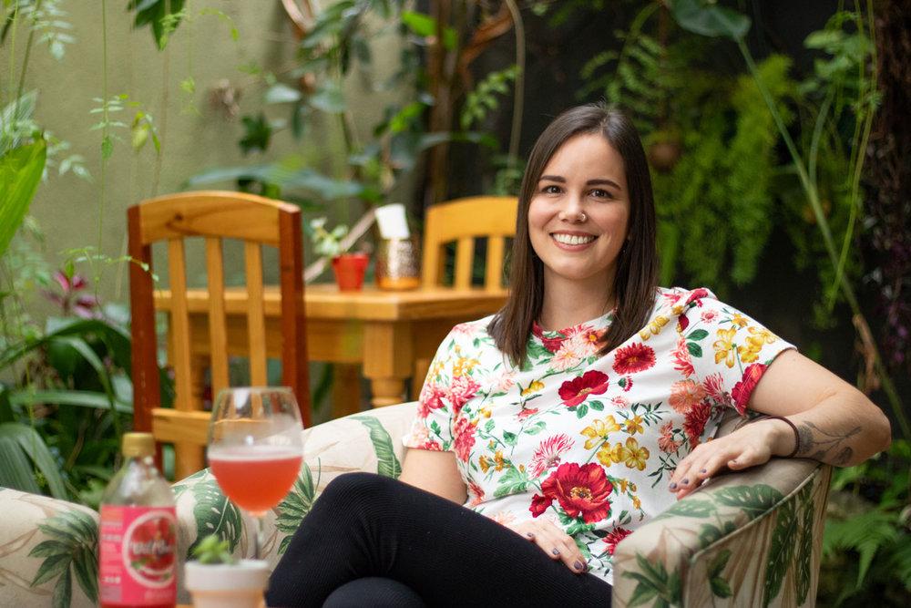 Catherine Smart, propietaria de Wild Brews.