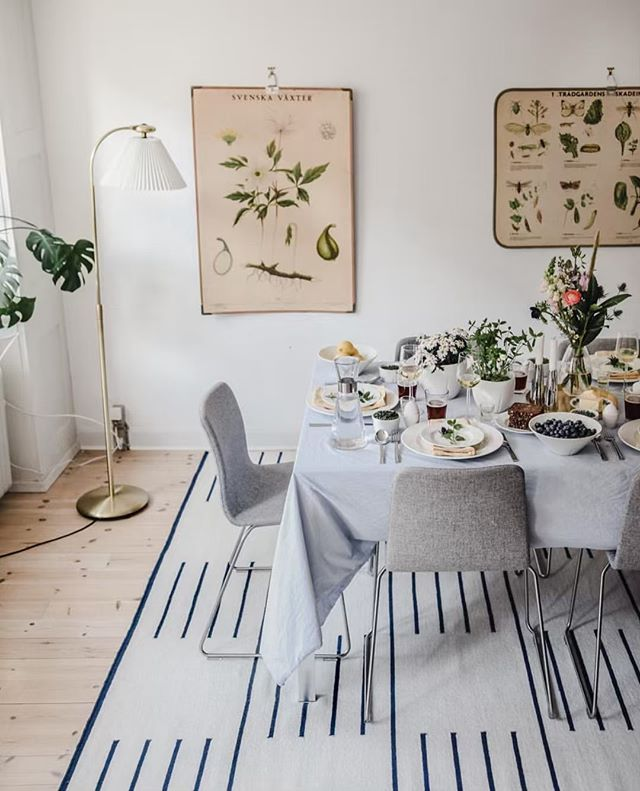 It looks like Spring! Beautiful dinner decoration @rosendahlcph @scandinaviastandard