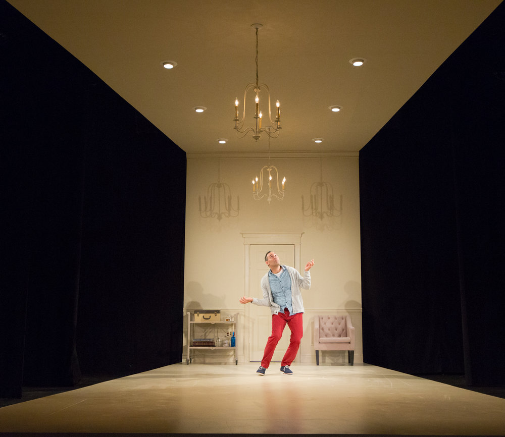 Dito van Reigersberg in Buyer & Cellar. Photo by Mark Garvin.