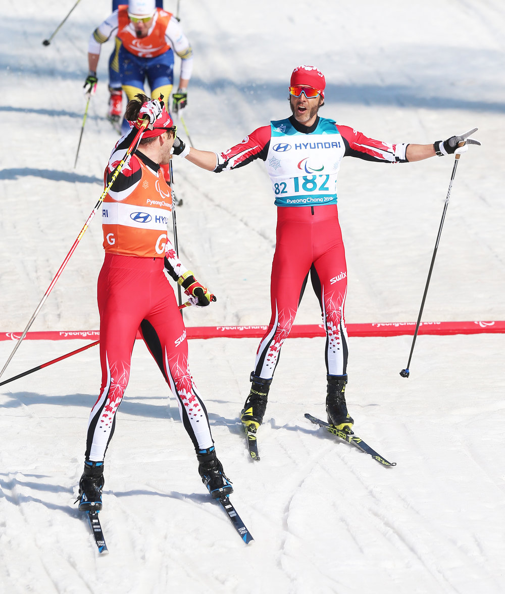 PyeongChang-Brian McKeever-Russell Kennedy-Cross Country sprints-14mar2018-161529.JPG