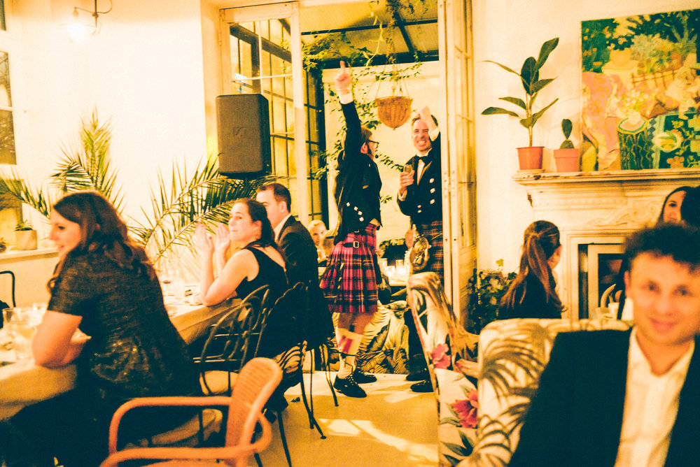 The ultimate Burns Night Party at B&H Buildings