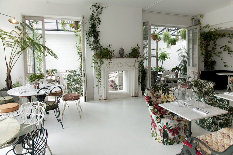The Restaurant  - You can hire the restaurant exclusively and it can cater up to 35 people seated, and can be combined with the cafe and greenhouse to cater for up to 80 seated. Prices start from £1,700 minimum spend.