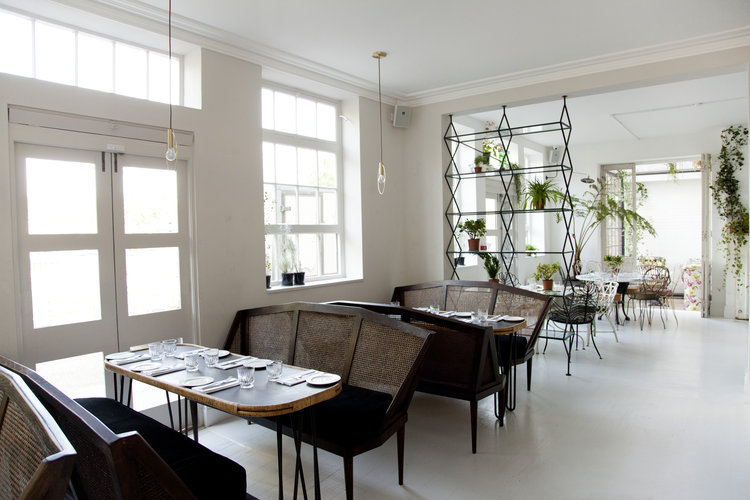 The Cafe - The cafe can seat up to 18 guests along one long table. Prices start from £600 minimum spend.