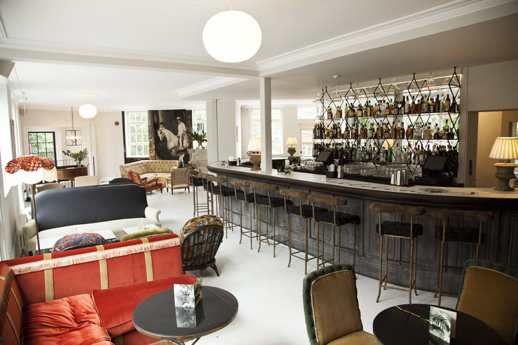 The Bar - A generous space for up to100 guests, mix of seating and standing space from £2,000 minimum spend for exclusive use.