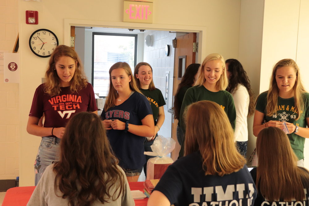 Stay Connected... - Register so you can stay up-to-date with the latest information as well as keep track of your college prospect Catholic Campus Ministries!