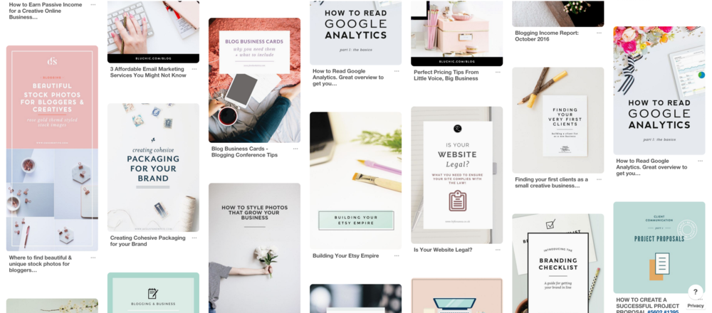 blog post graphic inspiration