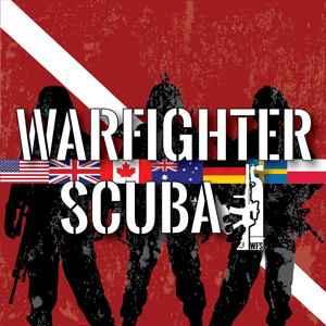 Warfighter Scuba's mission is to teach and certify wounded veterans Scuba by offering custom-tailored training and worldwide recognized certifications as a means of providing our war heroes an alternate outlet for their burdens of war.  No one forgotten, no one left behind.